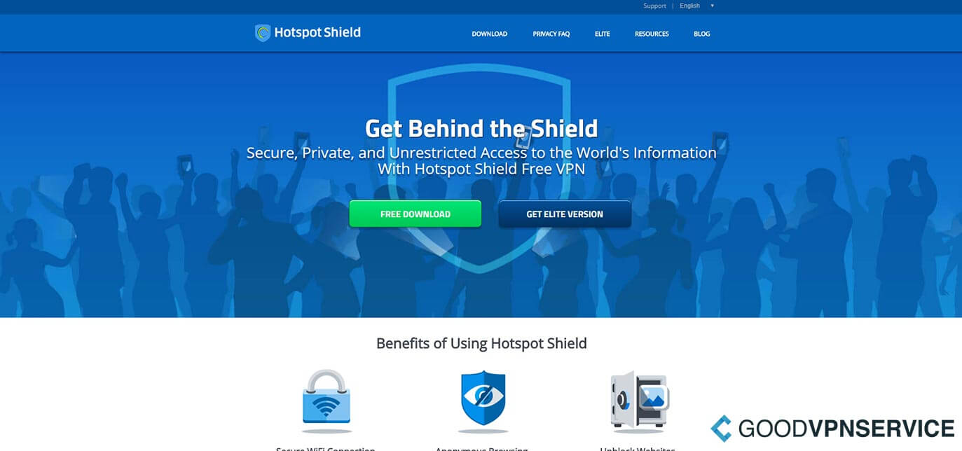 What is HotSpot Shield?