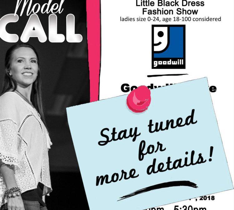 Fashion Show Model Call