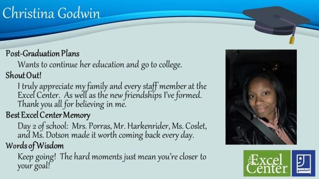June 2019 Grad Christina Godwin