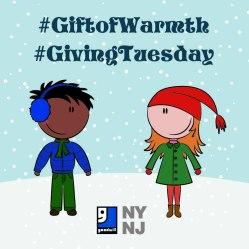 #GivingTuesday #GiftofWarmth
