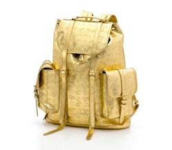 gold rucksack