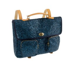 navy glitter rucksack