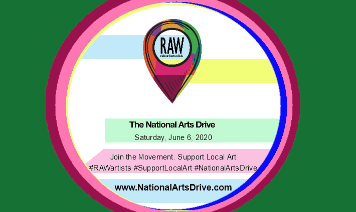 National Arts Drive by RAWartist.com