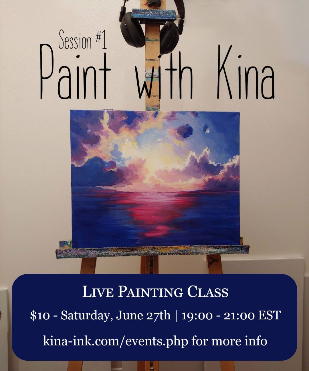 Special Virtual Art Class!!! by Kina Forney