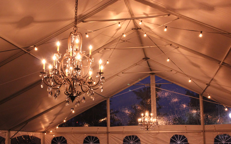 Tent And Sailcloth Tent Lighting Ideas