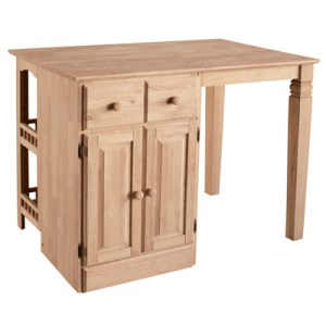 Classic Butterfly Leaf Pedestal Table 42