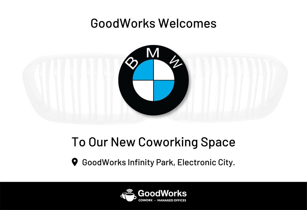 BMW Social Post Goodworks Cowork Electronic City