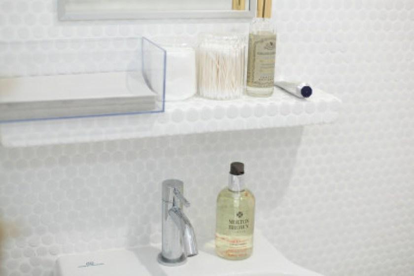 下北沢の美容室 Goody Baseのシンプルな洗面台