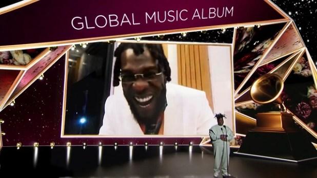 Burna Boy's 'Twice As Tall' wins Best Global Music Album at 2021 Grammys