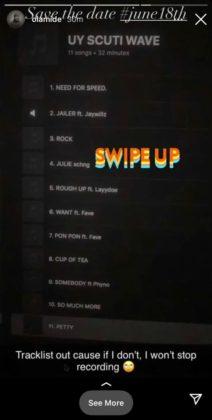 Olamide Unveils Tracklist for Upcoming Album