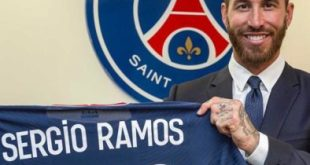 PSG completes signing of Real Madrid's star, Sergio Ramos