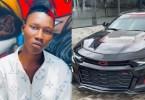 Zinoleesky Acquires New Sports Car Worth 22 Mllion (Photos)
