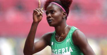 Adegoke, Amusan & Brume Get Final Spots in Olympics 2020