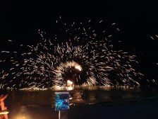 More of the fire displays on Chaweng Beach, Koh Samui