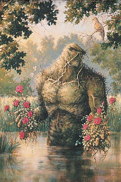 Swamp Thing (duh duh, duh duh!), you make my heart sing!