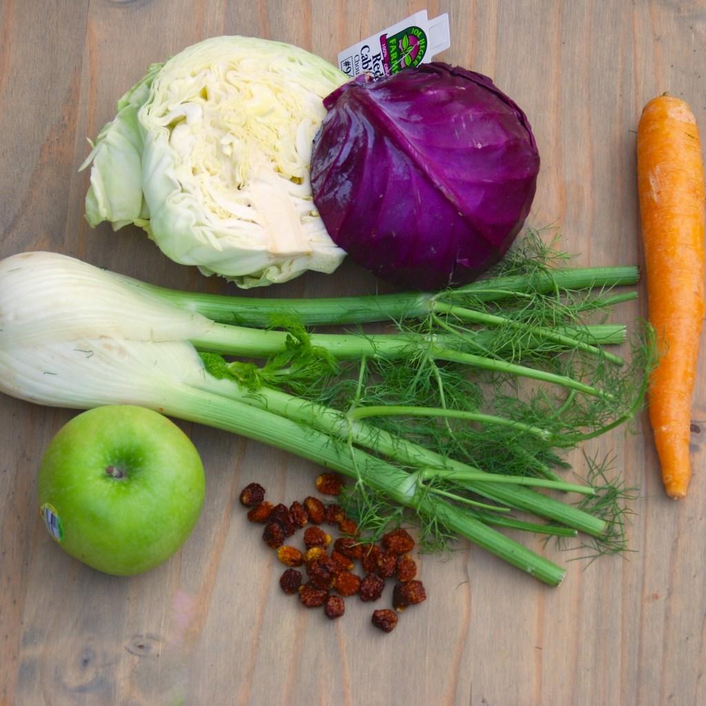 Crunchy Cruciferous Detox Salad