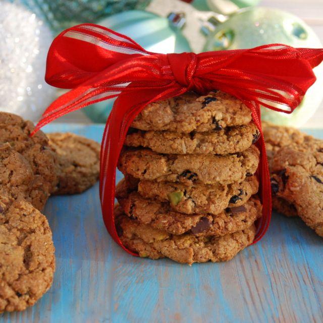 Gluten Free Vegan Pistachio Cookies