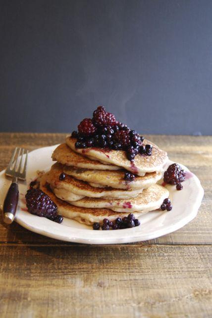 Simple Gluten Free Vegan Pancakes