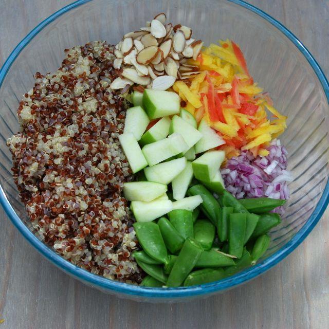 Eat Your Peas Quinoa Salad