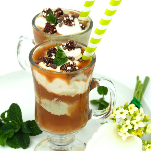 Cold Brew Irish Coffee Floats