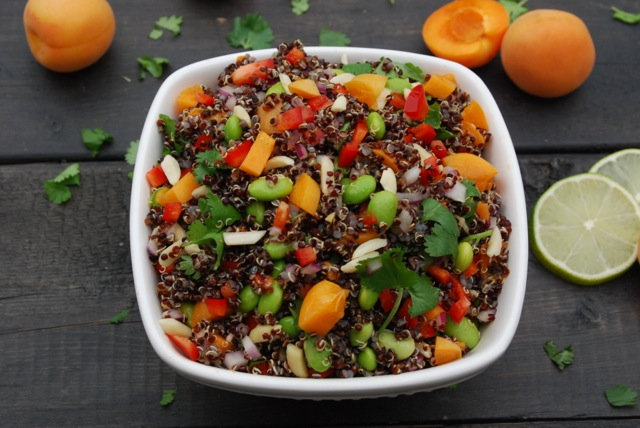 Stone Fruit Quinoa Salad