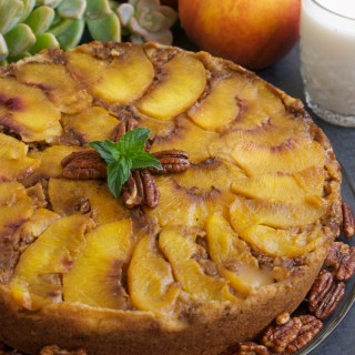 Gluten-Free-Vegan-Peach-Upside-Down-Cake