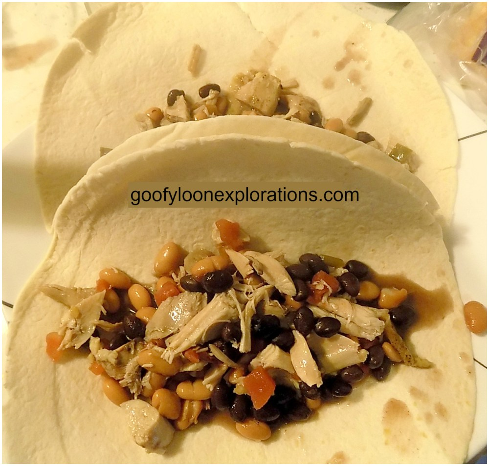 Quick and Easy Chicken Burritos - Building Your Burritos