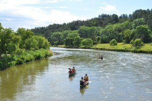 Rafting on the Platte River