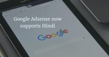 Google Adsense now supports Hindi