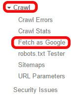 Open Fetch As Google