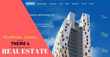 WordPress and Joomla Real Estate Themes