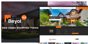 WordPress Real Estate Beyot Theme