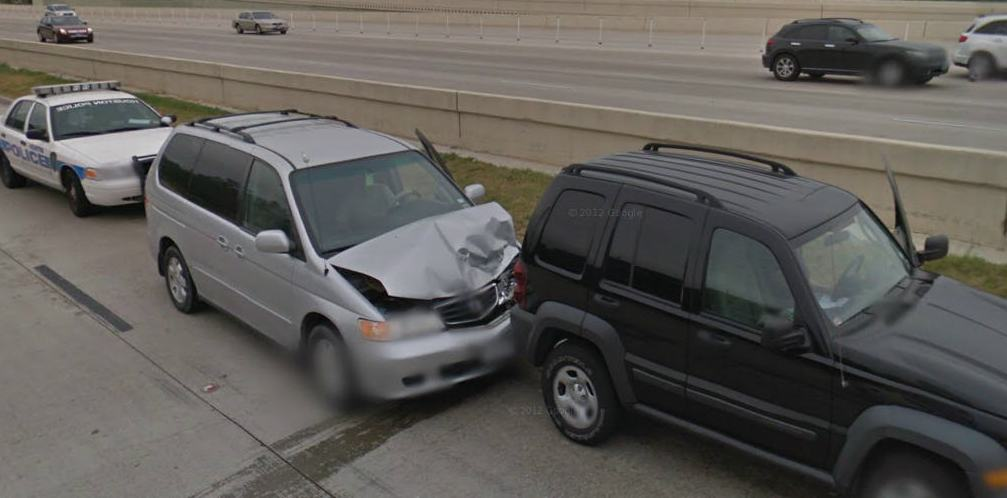 HD Decor Images » Google Street View Captures Yet Another Accident in Texas  USA     Google Street View Captures Yet Another Accident in Texas  USA