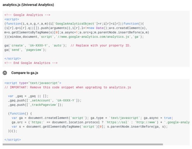 universal-vs-classic code