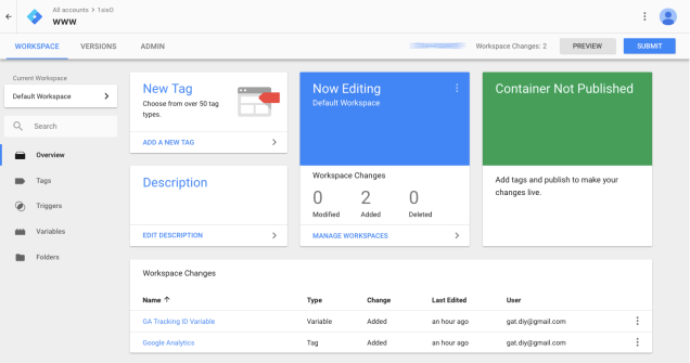 publish-Google-Analytics-via-tag-manager