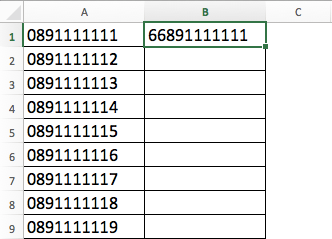 excel-replace-mobile-number