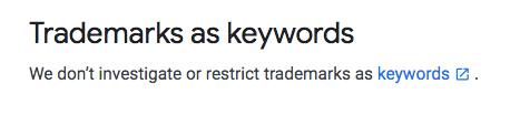 ซื้อแบรนด์ keyword คู่แข่ง google adwords