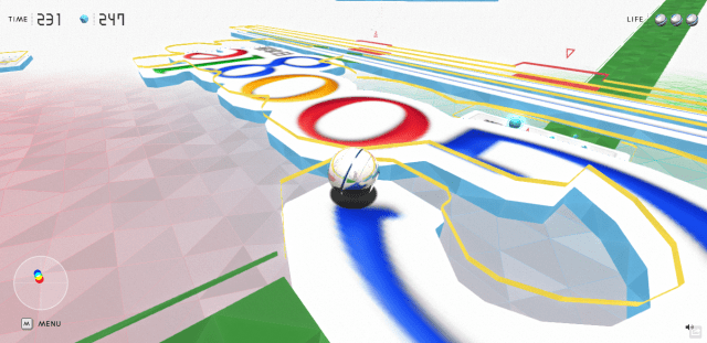 chrome maze e1363891417957 Novo experimento do Chrome transforma sites em games 3D