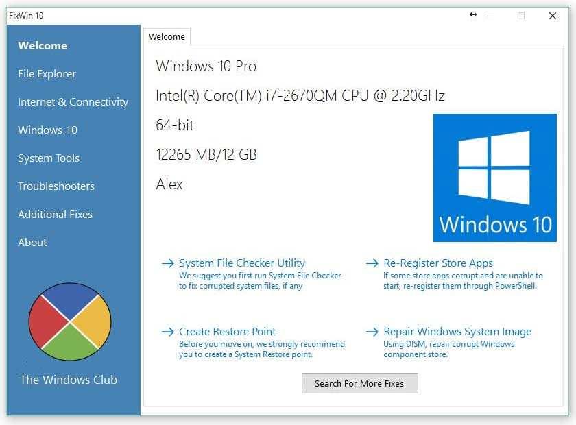 Windows Fix Tool Free Download