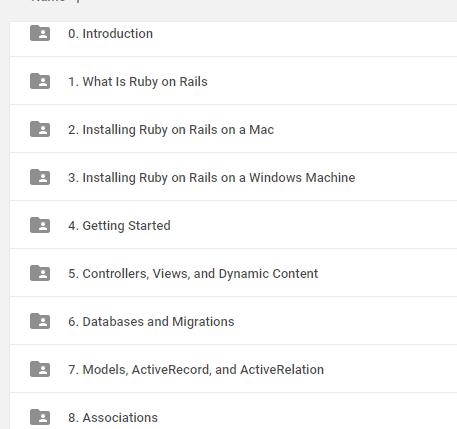 Ruby on Rails 4 Essential Training