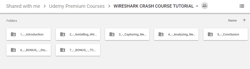 udemy wireshark