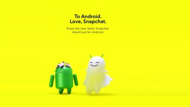 Snapchat revamps the version of the Android app