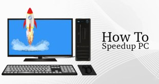 How to increase computer speed in windows 7,8,10