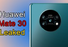 Huawei Mate 30 Leaked Shows Futuristic Circular Camera Design