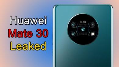 Huawei Mate 30 Leaked Shows Futuristic Circular Camera Design