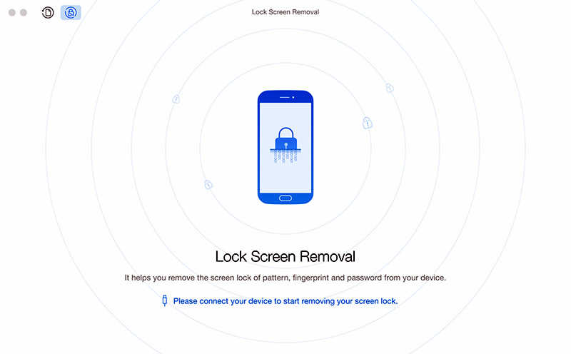 Remove Screen Lock with Phone Rescue