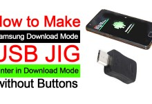 How to make Samsung Download Mode USB JIG