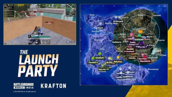 Battlegrounds Mobile India 'The Launch Party' event day 1: Team Snax in the lead, SouL and Dynamo lag behind