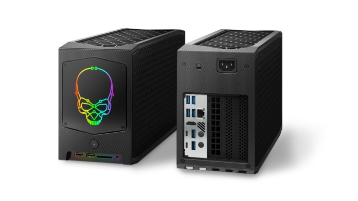 Intel  NUC 11 Extreme Kit with space for a 12-inch GPU launched