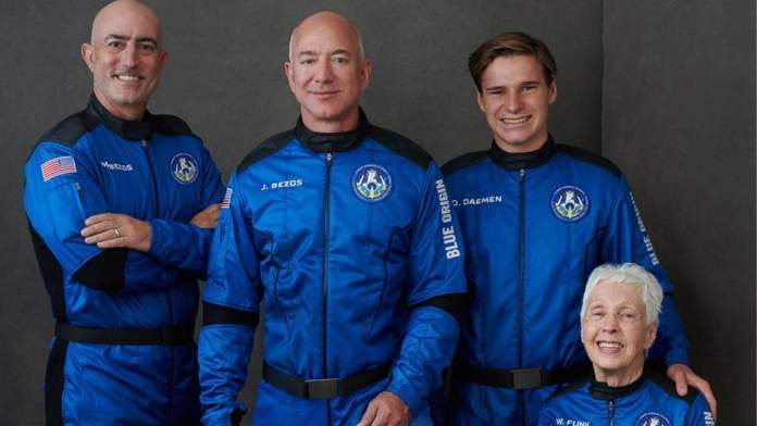 Jeff Bezos travels to space today: How to watch Blue Origin rocket launch online